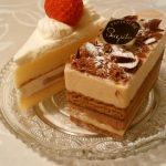 横浜市鶴見区東寺尾にある和洋菓子屋「清月」のケーキ