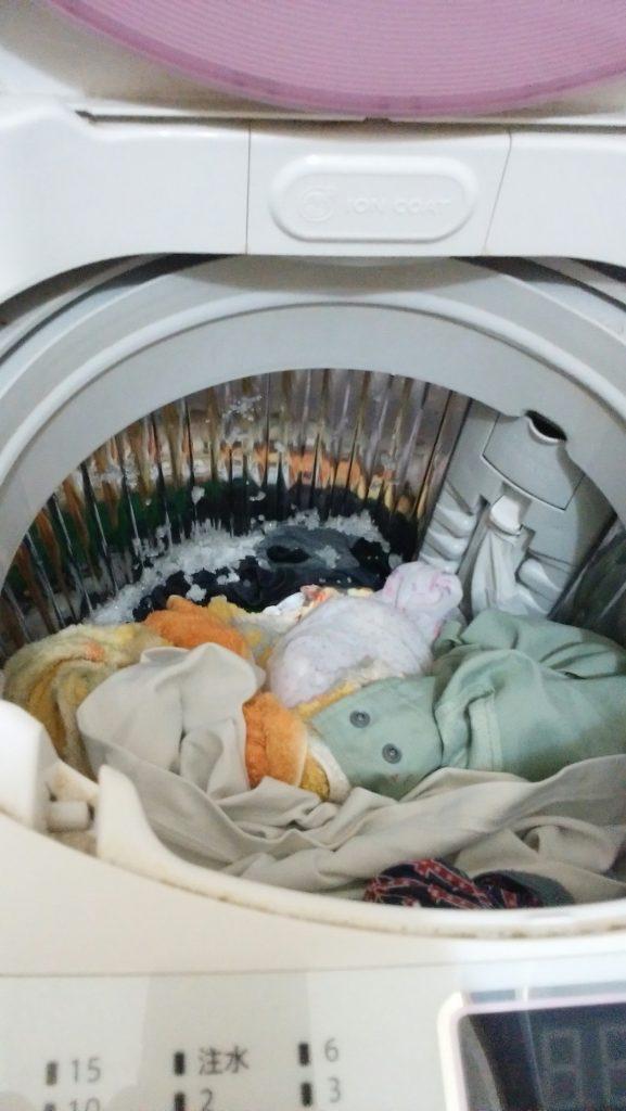 オムツ洗濯1